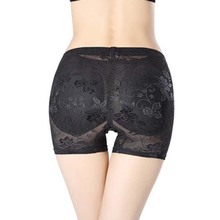 Women Thicken Pads hip Underwear Sexy Buttock Shaper lace padded hip panty Push Up Underwear Hip Pad Panty M L XL XXL все цены