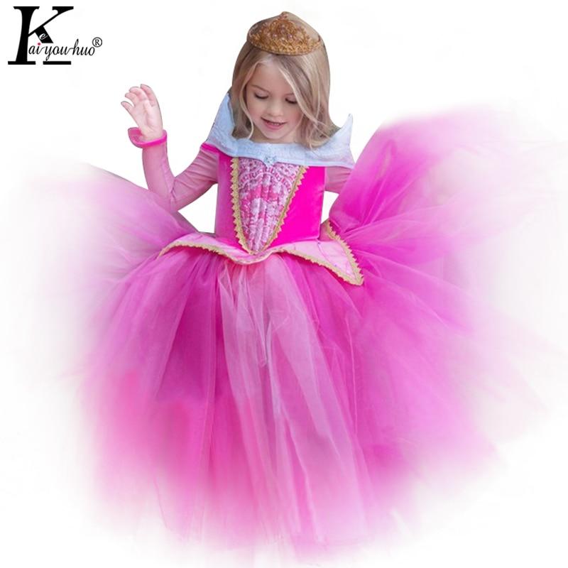 Snow White Girls Clothes Cinderella Dress For Girls Costumes Party Toddler Christmas Dress Elsa Dress Children