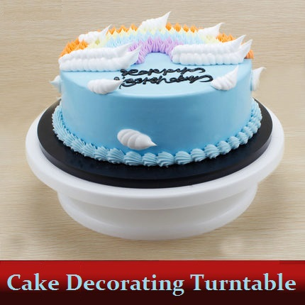 Hot 11 Cake Stand Swivel Plate Rotating Revolving for Sugarcraft Decorating Turntable Platform Valentine s Day