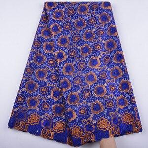 Image 1 - la suisse afrique tissu coton tissus de dentelle haute qualité voile lacets dentelle française tissu tissu chaque robe a1344 hommes femmes