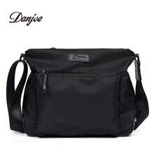 Danjue человек сумка Высокое качество Оксфорд Водонепроницаемый вертикальная сумка Для мужчин Бизнес сумка Для мужчин крышка для отдыха