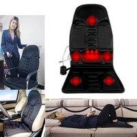 Electric Massager home car Chair Massage Chairs Seat Vibrator Back Neck massagem Cushion Heat Pad For leg Waist Body Massager