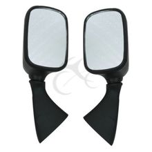 Side Rear View Mirrors For Suzuki Hayabusa GSX1300R GSXR1300 1997-2011 motorcycle rear seat cover cowl for suzuki hayabusa gsx1300r gsxr1300 2008 2017 09 10 11 12