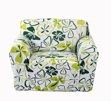 Green sofa cover single double three four seat elastic sofa cover sofa slipcover protector stretch universal polyester/spandex