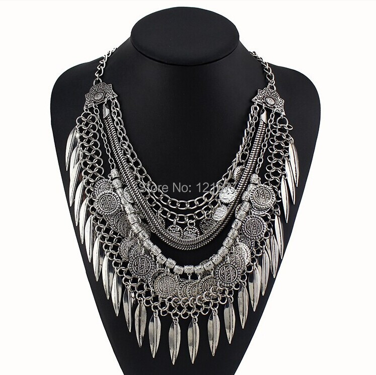 Aliexpress.com : Buy Women Gypsy Necklace Fashion Jewelry ...