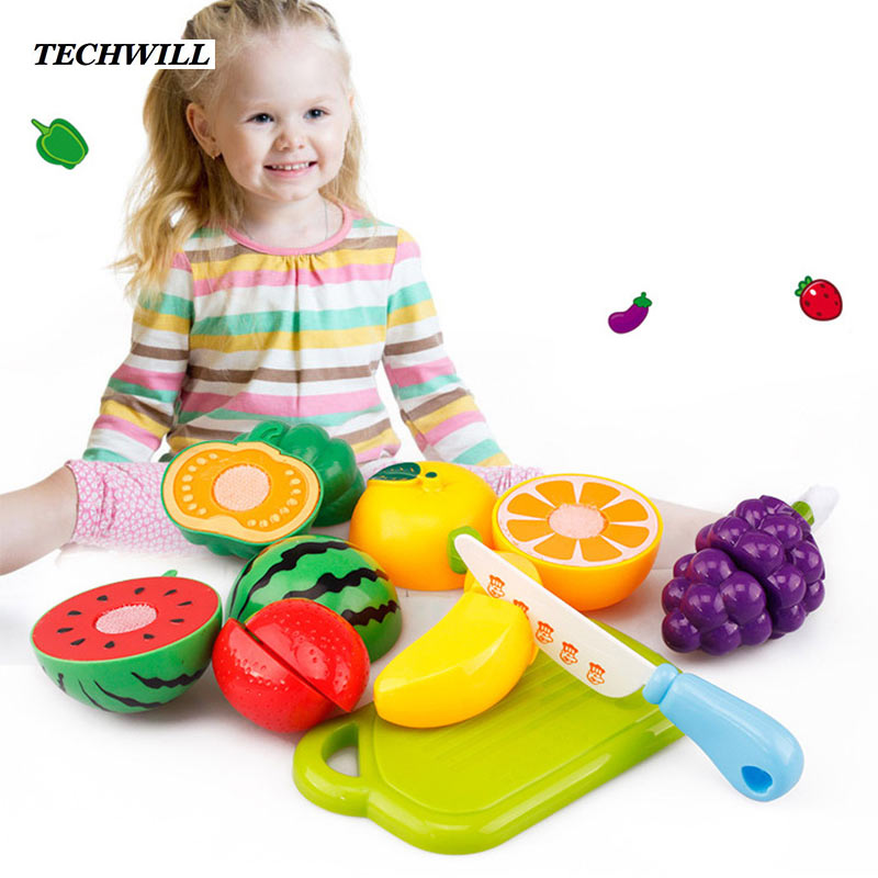Food Toys For Girls : Kids kitchen pretend toys pc set simulation food children