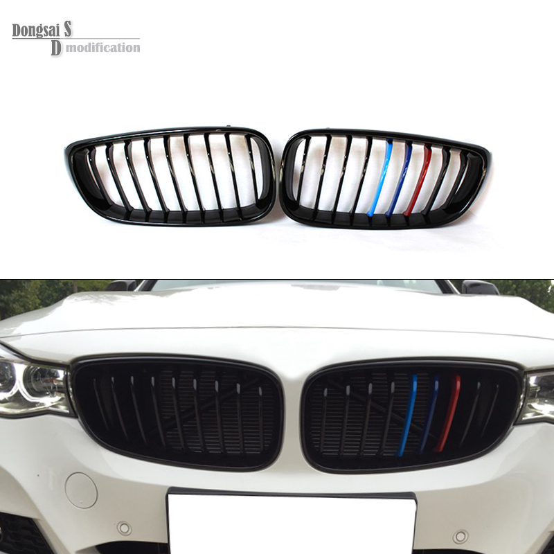 3 Series Gt F34 Abs Front Grille Bumper Air Grill For Bmw 3 Series 2013 2016 Gran Turismo 320i 328i 335i 318d 320d In Racing Grills From Automobiles