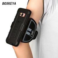 For Samsung Galaxy Note 8 Adjustable GYM Armband Case For Cell Phone Sports Exercise Running Durable