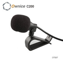 De alta Calidad! especial Negro Manos Clip de 3.5mm Mini Discurso del Estudio Del Micrófono