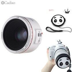Cadiso YN50mm F1.8 II 0.35M Focus Distance Prime EF 50mm Lens Camera Bokeh Effect cameraLens For Canon EOS 70D 600D 5D2 5D3 DSLR