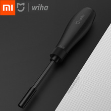 Newest Original Xiaomi Mijia Wiha Daily Use Screwdriver Kit 8 in 1 Precision Magnetic Bits DIY Screw Driver Set For Home