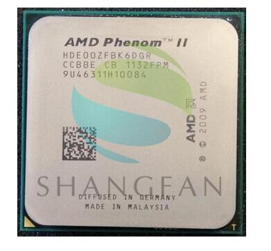 AMD Phenom X6 1100T X6-1100T 3.3GHz Six-Core CPU Processor HDE00ZFBK6DGR 125W Socket AM3 938pin