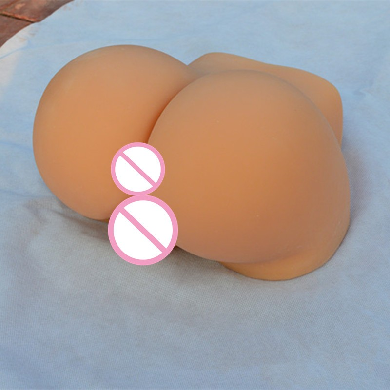 Sex Dolls 0.75/1.5/3.5kg Realistic Solid Silicone Sex Doll with Ass & Vagina, Men's Masturbator Toy with Pussy+Anal D4-1-4 1