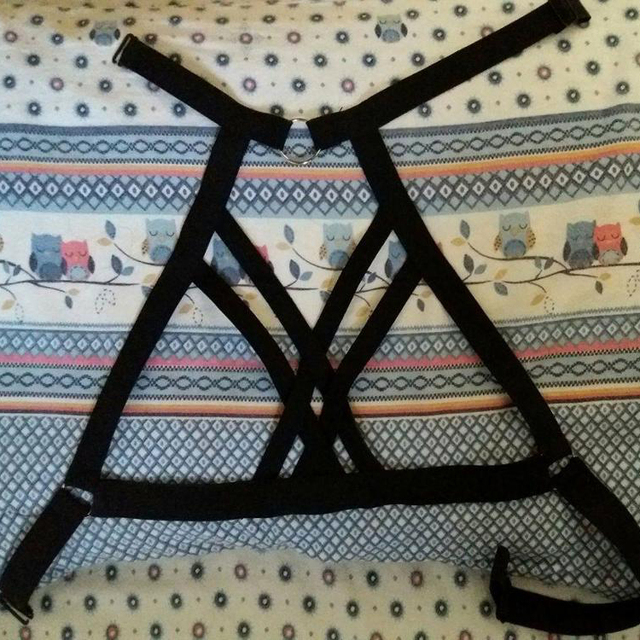 Gothic Harness Belt