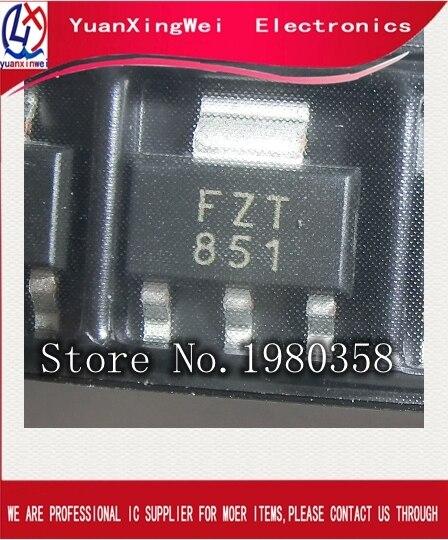 10 pièces Dorigine FZT851TA FZT851 Transistor NPN SOT-223 Marquage FZT851