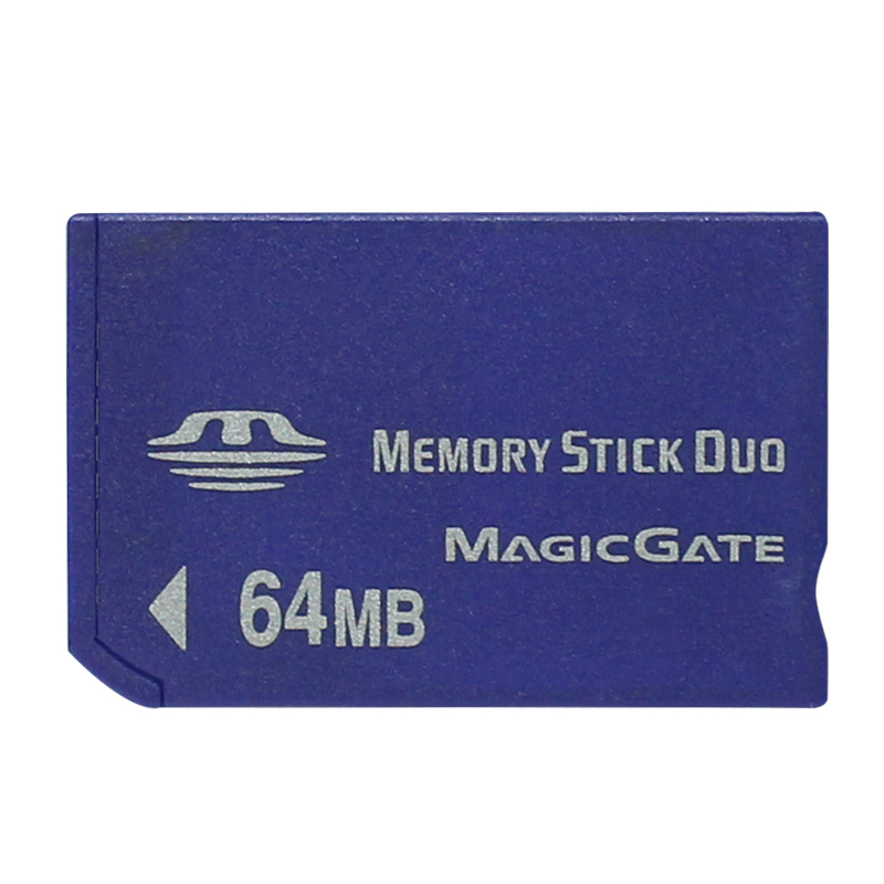Hot Sale Wholesale 64MB MS Memory Stick Pro Duo Memory Cards 64MB INTO MS Card Memory Stick NON-PRO Card