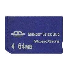 Gorąca sprzedaż hurtowa 64MB MS pendrive Pro Duo karty pamięci 64MB do MS karta Memory stick NON-PRO karty