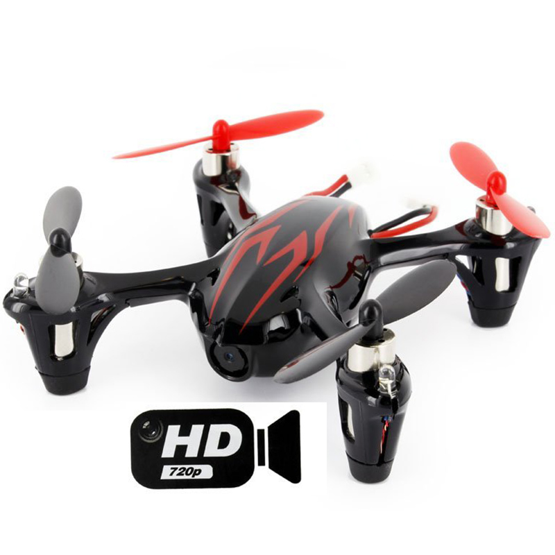 RC font b Drone b font Hubsan X4 H107C 2 4G 4ch 6 Axis with 2MP