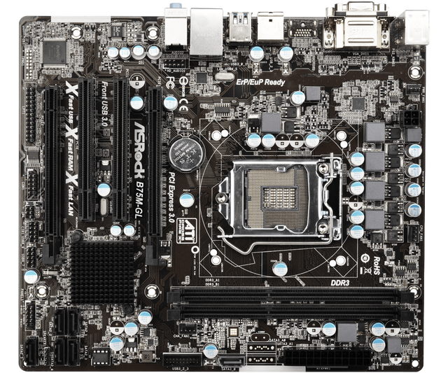 Asrock B75M XFast USB Drivers Windows
