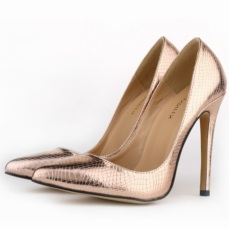 New Loslandifen women pumps high heels shoes woman pointed toe sexy party wedding dress OL stiletto Crocodile veins ladies shoe new spring summer women pumps fashion pointed toe high heels shoes woman party wedding ladies shoes leopard pu leather