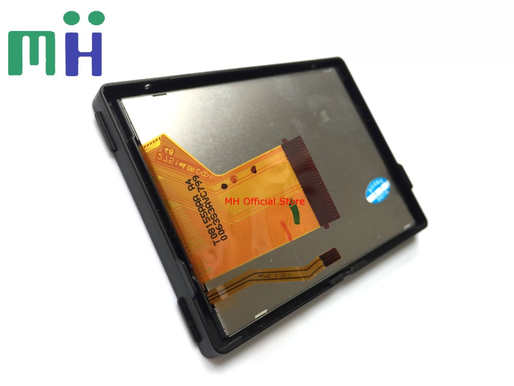 A7S A7 LCD Screen Display With Backlight Protect Glass For Sony A7 A7s Camera Repair Part