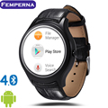 Femperna D5 Smart Watch Heart Rate Monitor Fitness Tracker MTK6572 Android 4.4 IPS Bluetooth WiFi GPS for Android IOS Smartphone