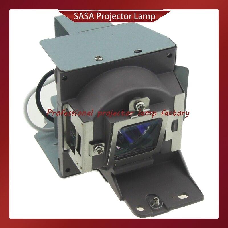 Venda quente 5J. substituição Da Lâmpada Do Projetor com Alojamento Para BENQ J5205.001 MS500/MS500 +/MS500P/MS500-V/MX501/MX501V /MX501-V/TX501