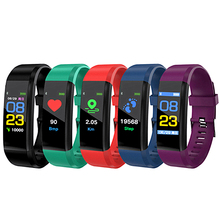 Health Bracelet Heart Rate Blood Pressure Smart Band Fitness Tracker Smartband Wristband honor mi Band 3 fit bit Smart Watch