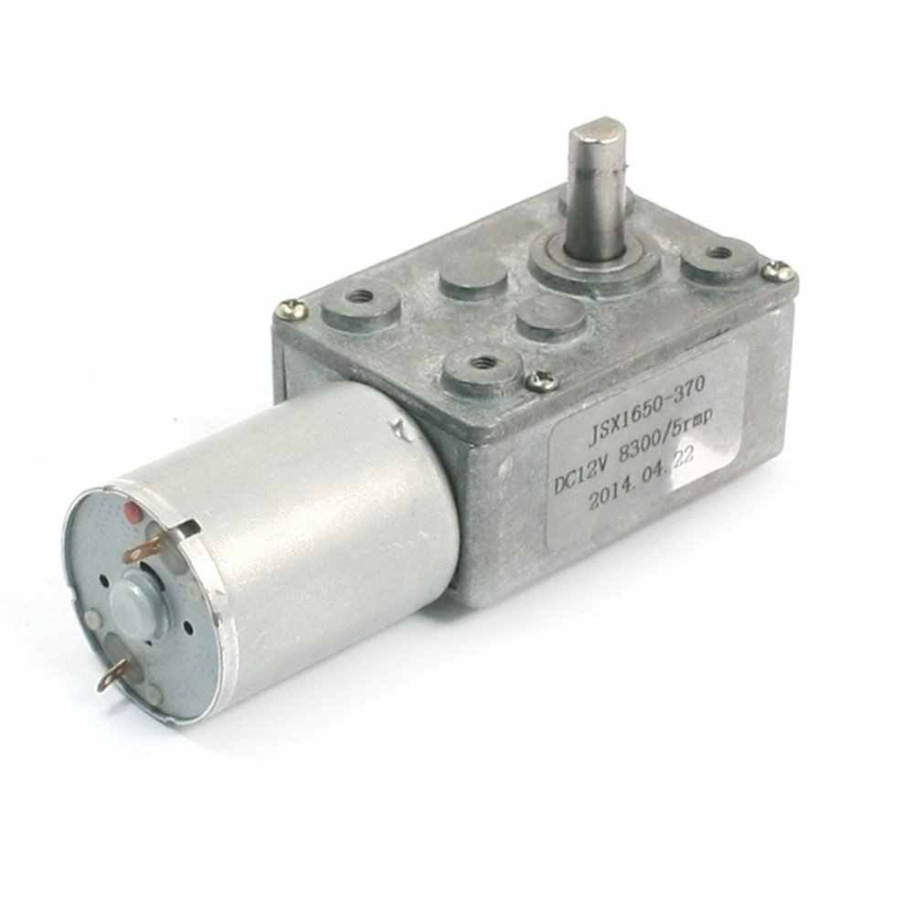 """UXCELL DC12V 8300 rpm 5 rpm פלט 4.5 מ""""מ קוטר פיר מומנט גבוה מפחית הילוך מנוע עבור מנגנון טיפול מכירה לוהטת"""