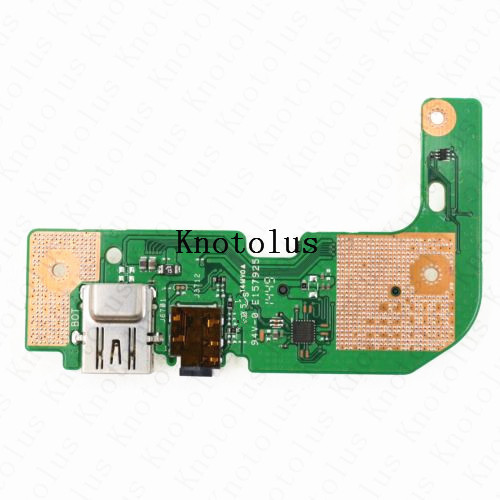 X555LD_IO BOARD For asus X555L X555LD USB AUDIO CARD READER BOARD in Laptop Docking Stations from Computer Office