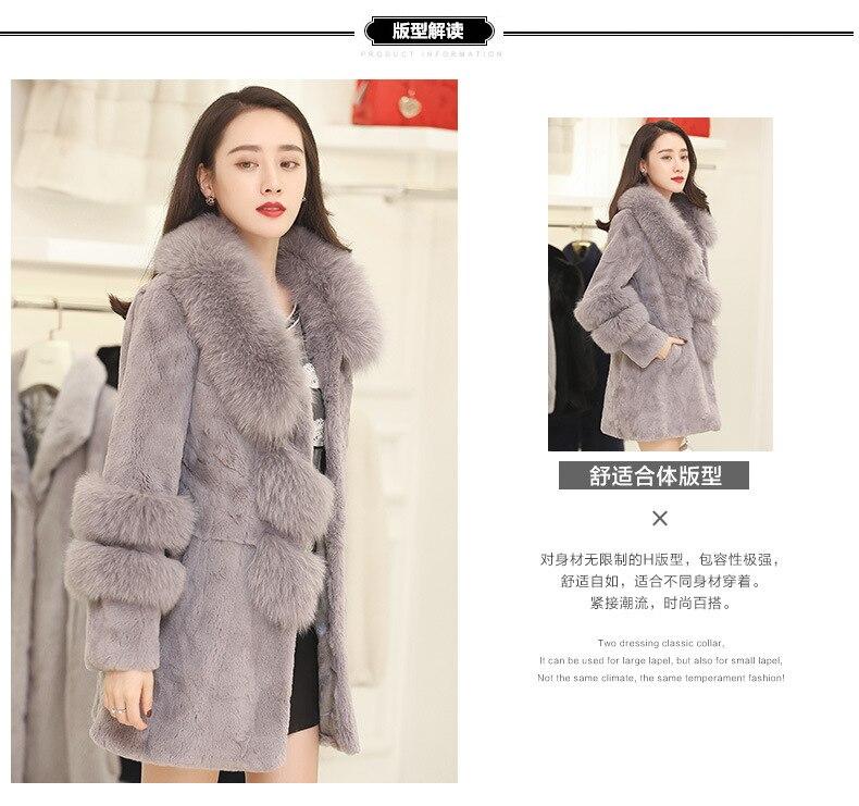 Women Faux Winter Coat 5