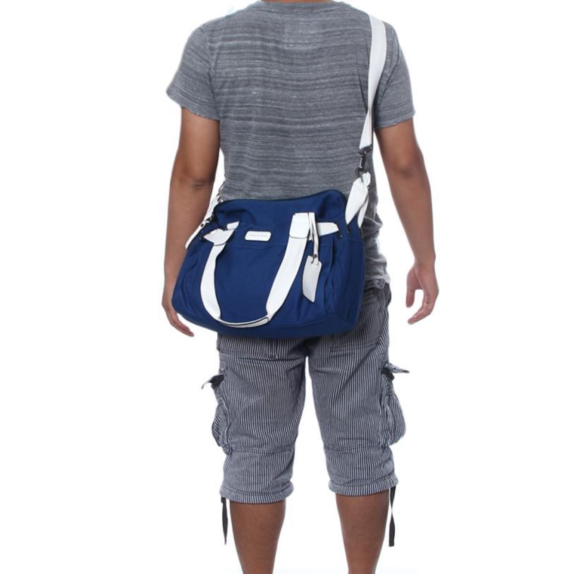 Для мужчин сумки через плечо 2017 холщовый мешок портфель известный дизайнер марки высокого качества винтажные большой Для мужчин сумка Borsa