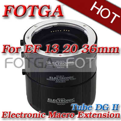 Macro AF Auto Focus Automatic Extension Tube Set DG for Kenko CANON EF EF-S Lens huanor hn 668c auto macro extension tube set for canon dslr black
