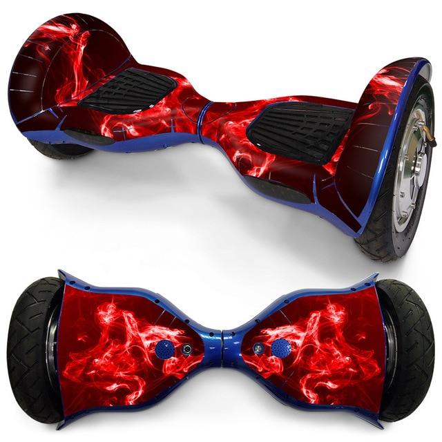 10 дюймов Ховерборд скейтборд кожи Стикеры электрический самокат колеса или gyroscooter крышка Стикеры balance board ПВХ Стикеры