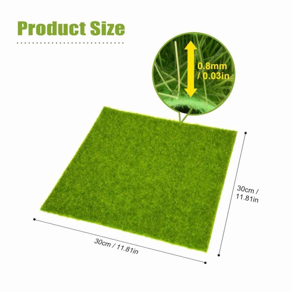 2 размера домашний сад искусственная трава ковер открытый поддельный цветок ковер ландшафтный дизайн Свадебный декор имитация искусственного растения