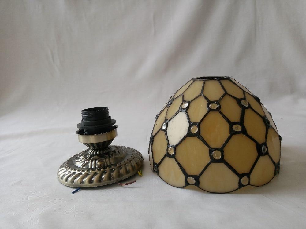Ön sundurma üçün vitrin işıqlı mozaik tavan lampaları üçün - Daxili işıqlandırma - Fotoqrafiya 6