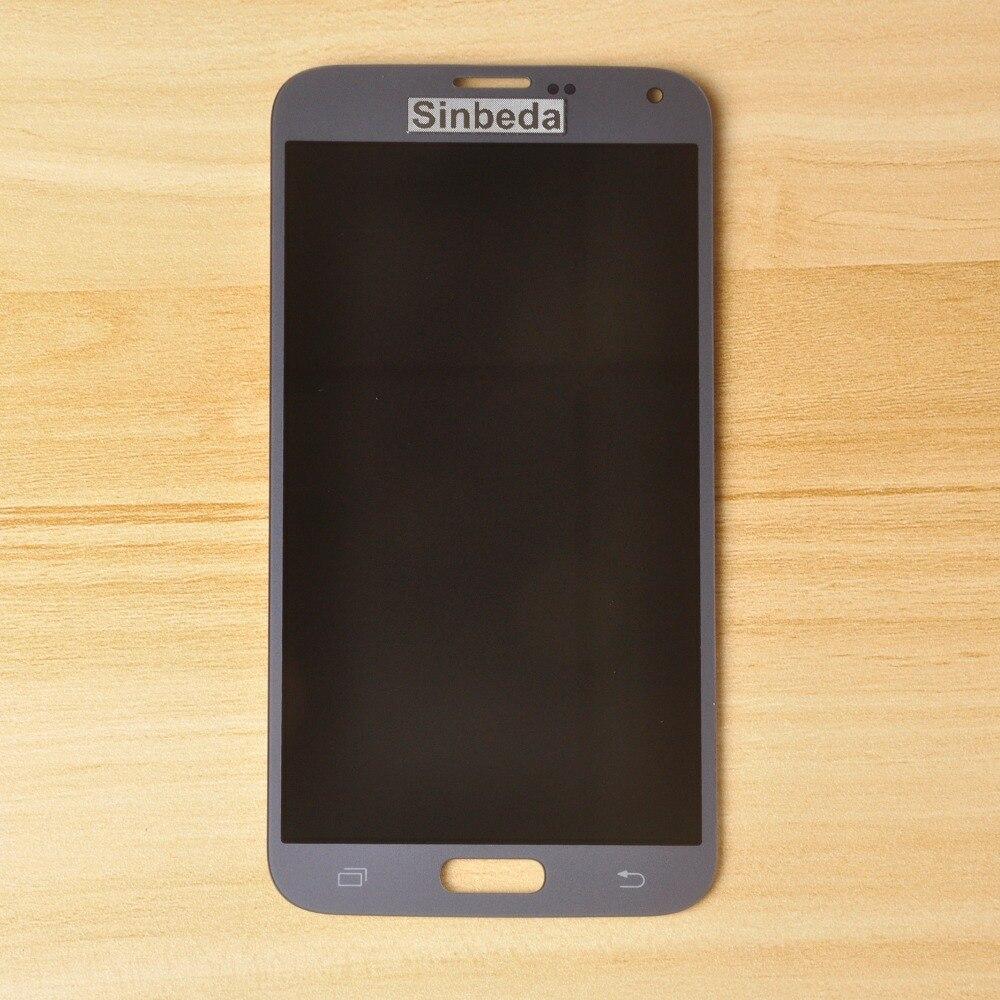 Sinbeda Super AMOLED Écran Pour Samsung Galaxy S5 NEO G903 G903F G903M LCD Affichage à L'écran Tactile Digitizer Assemblée Pour SM-G903M