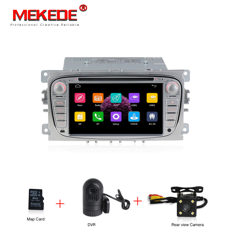 wholesale! 7″ 2din car multimedia gps navigation system for ford focus 2008-2011 support steering wheel