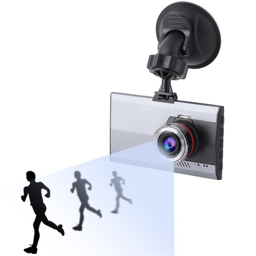 3 Inch LCD Full HD 1080P Night Vision Car DVR 170 Degree Viewing Angle Motion Detection & G-Sensor Video Cam Dash Cameras