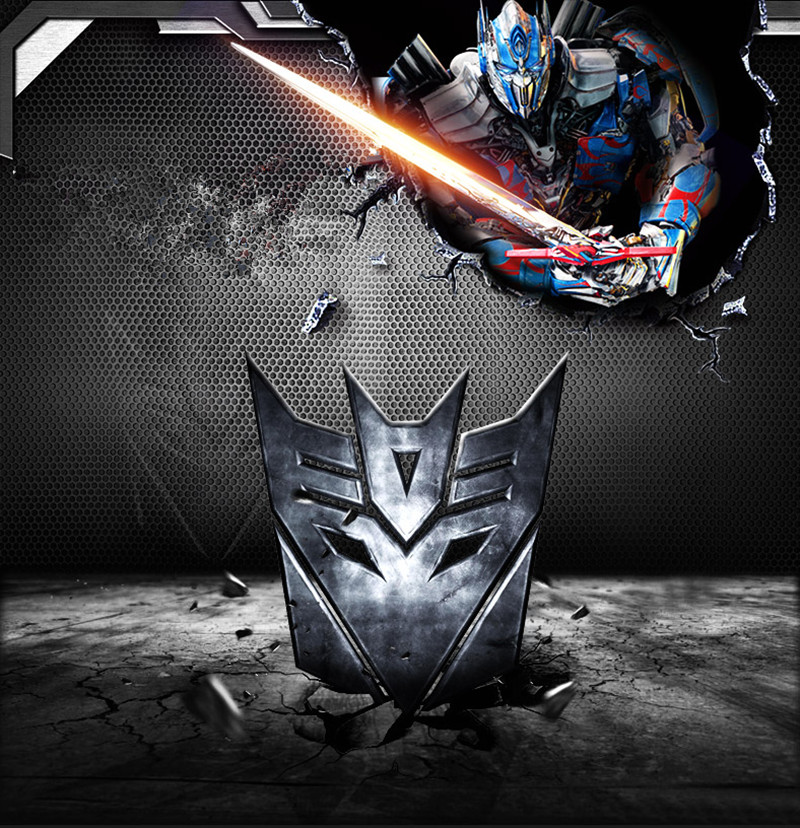 car Transformers logo stainless steel for FORD f150 250 3 elm327 Fiesta focus Escort MONDEO Taurus for bmw kia audi accessories