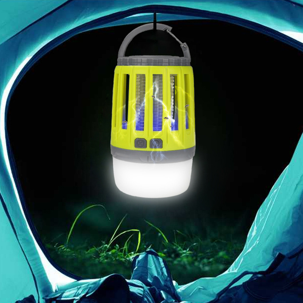 Image 4 - Camping Lights With Bug Zapper Mosquito Repellent Function Camping Lantern Mosquito Trap Mosquitoes Insect Killer Pest Reject-in Repellents from Home & Garden