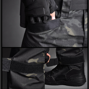 Image 5 - Mega erkekler Jogger taktik pantolon kamuflaj askeri kargo Sweatpants gevşek Camo günlük pantolon Joggers pantalones tacticos XXXL