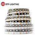 WS2813 светодиодный полосы светильник двойной сигнал индивидуально адресуемых 1 м и формирующая листы для кровли 4 м 5 м 30 60 100 144 светодиодный s ...