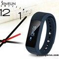 Symrun nova chegada pulseira pulseira inteligente rastreador de fitness saúde três cores frete grátis i5 smart watch pulseira ip67