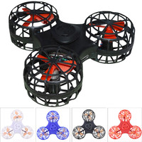 4pc 1Set Color Optional High Quality Tiny Toy Drone Flying Fidget Spinner Stress Relief Gift Flying