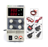 chuilian CL305D 30V 5A Single Channel adjustable Digital 0.1V 0.01A DC Laboratory power supply DC power cables