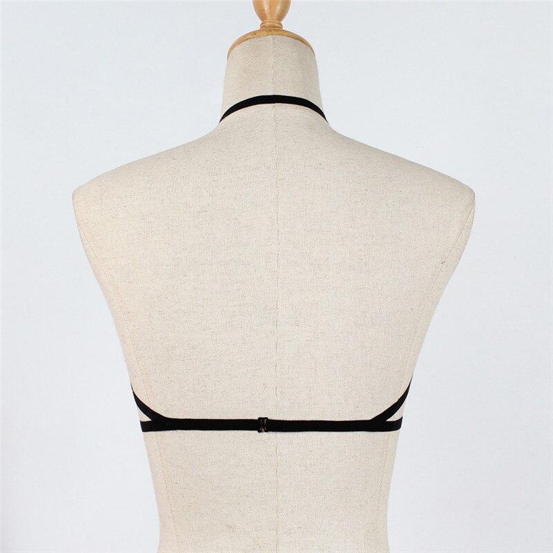 Exotic Apparel Bandage Lingerie Hollow Strappy Bra Corset Push Up Top Underwear Lingerie Sexy Hot Erotic Porno Costumi Sexy