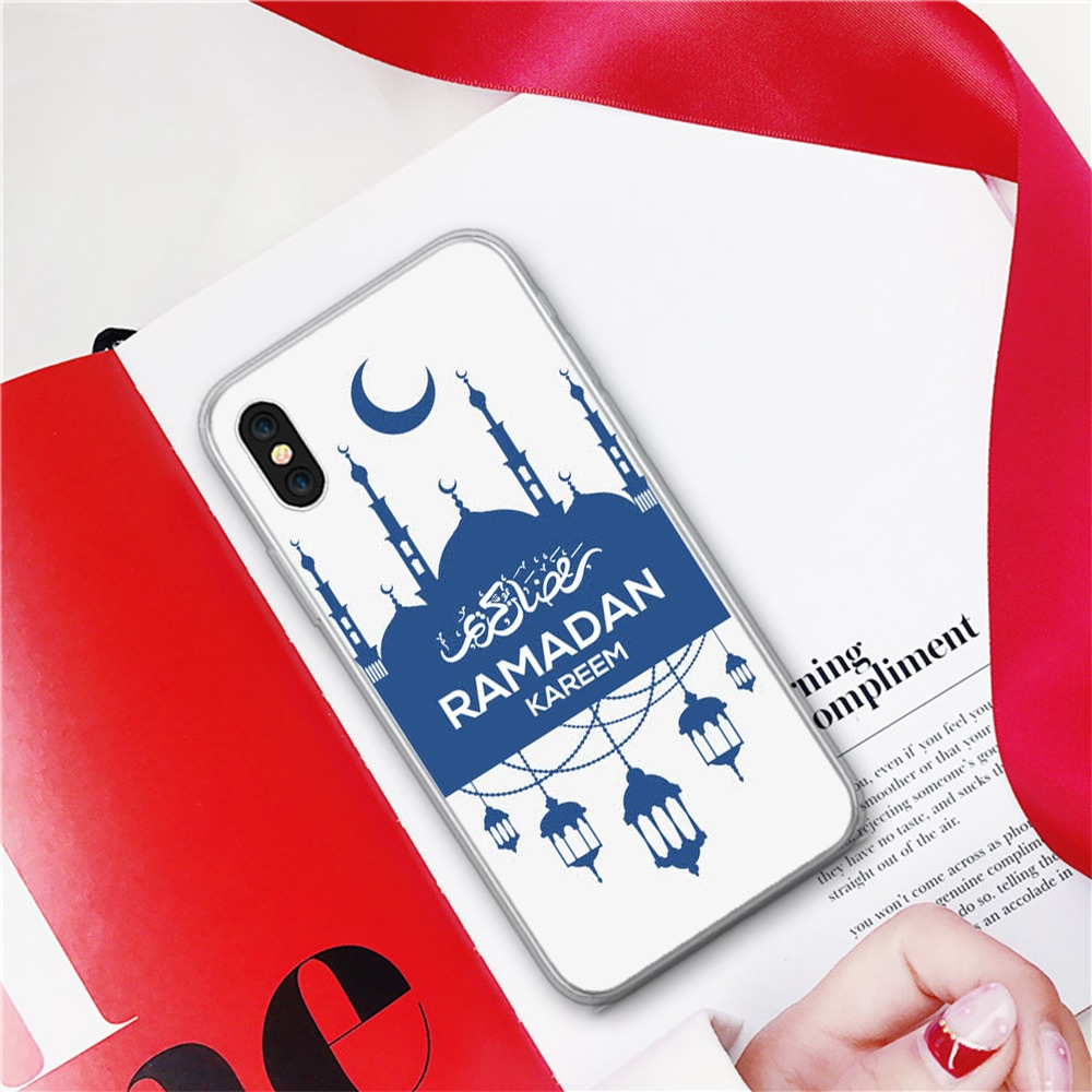 CASEIER Ramadan Style Case For iPhone X XR XS MAX Back Cover Phone Case For iPhone 6 6s 7 8 5 5s SE 5C 4 4S XR Soft TPU Fundas in Fitted Cases from Cellphones Telecommunications