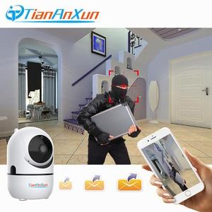 Image 5 - Tiananxun Mini caméra de Surveillance IP Wifi Cloud hd 1080P (YCC365), dispositif de sécurité domestique sans fil, avec suivi automatique