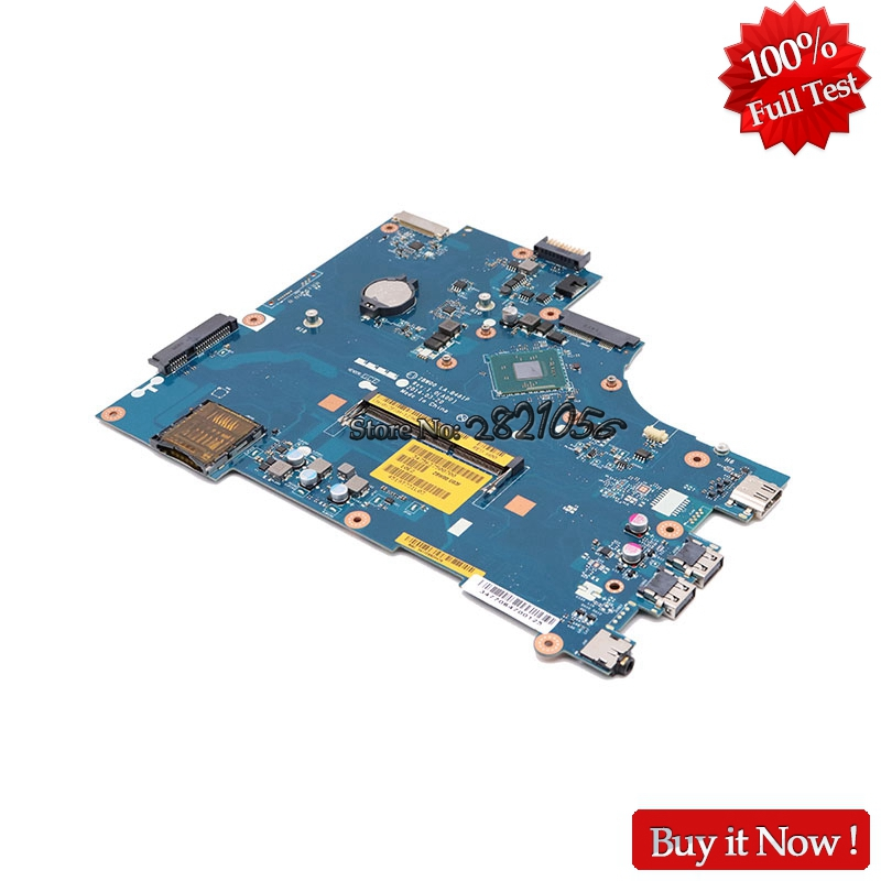 Nokotion New ZBW00 LA-B481P For Dell 15R 3531 Laptop Motherboard CN-0Y3PXH 0Y3PXH Y3PXH With N3530 CPU Onboard nokotion brand new cn 0y3pxh 0y3pxh for inspiron 15 3531 laptop motherboard zbw00 la b481p sr1w2 n3530 cpu onboard ddr3